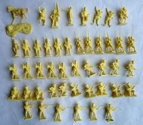 équivalence BOITE AIRFIX 01744 WATERLOO FRENCH INFANTRY 1/72 45 Pièces COMPLET No Atlantic Esci... (2) - Army