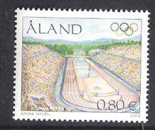 Åland Aland 2004  Summer Olympic Games Athens, Olympic Stadium, Athens (1896)  Mi  240 MNH(**) - Aland