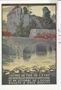 VENDEE  :  ( Chemin De Fer De L'état, Excursions En Vendée, En Saintonge ) - Schienenverkehr
