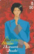 Télécarte Ancienne Japon / 110-011  - MANGA By NATSUMI ITSUKI - ANIME Japan Phonecard - BD COMICS Telefonkarte - 9928 - Comics