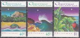 Weihnachtsinsel 1993 Religionen Christentum Weihnachten Christmas Noel Tiere Animals Vögel Birds Turtles, Mi. 388-0 ** - Christmas Island
