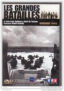 DVD LES GRANDE BATAILLES Normandie 1944 ( TTB état Port 110 Gr) - Documentary