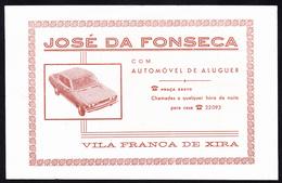 Táxi Invoice/ Factura De Táxi - José Da Fonseca, Vila Franca De Xira // Portugal 1976 - Portugal