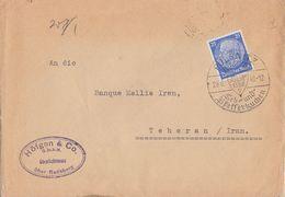 DR Brief EF Minr.522 Pulsnitz 29.6.40 Gel. Nach Teheran (Iran) Zensur - Briefe U. Dokumente