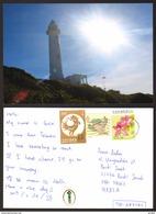 China Taiwan Lighthouse RPPC Stamp   #22711 - Taiwan