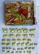 BOITE AIRFIX FARM STOCK LA FERME BLUE BOX 1963 1/72 Presque Complète 41 Figurines No Atlantic Esci... Boîte Bleue - Army