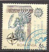 Rumänien  (2008)  Mi.Nr.  6282  Gest. / Used  (1eo02)  NATO - 1948-.... Repúblicas
