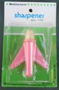 Aereo In Plastica,plastic Plane,1960's/1970's,Hong Kong. Temperamatite, Pencil-sharpener, Taille Crayon, Anspitzer.Never - Altre Collezioni