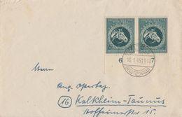 DR Brief Mef Minr.2x 900 UR 16.1.45 - Deutschland