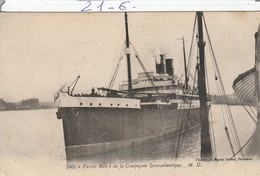 Bateau : PUERTO RICO :  ( Compagnie Transatlantique ) - Sonstige
