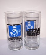 Turkey Rare Star Wars Glass 3!!! Storm Trooper Glass From Pasabahce!!! - Botellas