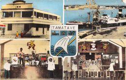 TAMATAVE -  (Madagascar ) -Hotel Des Voyageurs  En  Multivues ( Années  50/60 ) - Madagascar