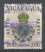 Nicaragua 1962. Scott #C513 (U) Arms Of Granada - Nicaragua