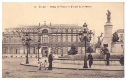 (59) 384, Lille, ELD 15, Statue De Pasteur Et Faculté De Médecine - Lille