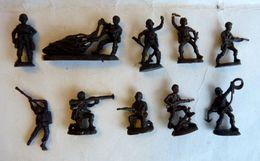 équivalence De BOITE ATLANTIC WWII PARACHUTISTES ITALIENS 1/72 S2RIE COMPLETE No Airfix Matchbox Esci ... - Army