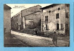 ROZELIEURES (54) RUINES RUE GUERRE 1914 PHOTOS R/V - France