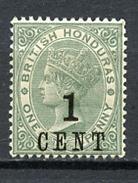 1891 -  BRITISH HONDURAS - Mi. Nr. 28 - LH -  (UP.70.26) - British Honduras (...-1970)