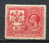 1921 -  BRITISH HONDURAS - Mi. Nr. 84 - LH -  (UP.70.26) - British Honduras (...-1970)