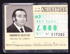 Portugal, PASSE 1981 - Transportes Colectivos . Região De Lisboa - Europe