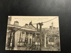 87 - REIMS Dans Ses Années De Bombardements 1914-1918 Rue Ponsardin Mesurage Central - Reims