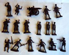 équivalence De BOITE ATLANTIC 1/72 ARMEE ROUGE SOLDATS RUSSES No Airfix Matchbox Esci .. - Army