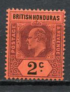 1902/04 -  BRITISH HONDURAS - Mi. Nr. 51 - LH -  (UP.70.26) - Britisch-Honduras (...-1970)