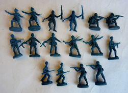 équivalence De BOITE ATLANTIC 1/72 Soldats Allemands 2 No Airfix Matchbox Esci .. - Army