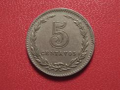 Argentine - 5 Centavos 1921 - Double Die Date 7459 - Argentina