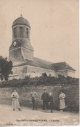 CPA Sainte Croix Grand'Tonne - L'église (14) - Sonstige Gemeinden