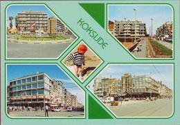 Grote Kaart Grand Format Koksijde Groeten Uit 1997 - Koksijde