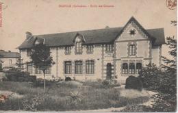 Dozulé (14) - Ecole Des Garçons - Timbre Taxe 10 Centimes à Percevoir - 24.12.1912 - Francia