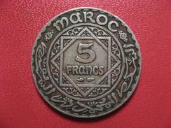 Maroc - 5 Francs 1352 (1933-1934) 7618 - Morocco