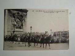50 WW1,  Les Fetes De La Victoire 14 Juillet 1919 Le GENERAL MORTUORI - Guerre 1914-18