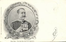 BOER WAR, Late British General Sir W.P. Symons, Uniform Medals (1900) Postcard - Other Wars