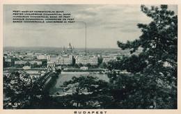BUDAPEST. PESTI MAGYAR KERESKEDELMI SANK.BANQUE COMMERCIAL HONGROISE DE PEST. HUNGARY. TBE-BLEUP - Hongarije