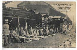 MILITAIRE - La Grande Guerre 1914-15 - DOUAI Pendant L'occupation, Boulangerie Allemande Dans L'Usine Arbel - War 1914-18