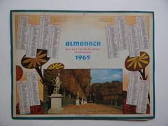 CALENDRIER POSTE 1965 ALMANACH Automne à Versailles CALENDAR KALENDER - Big : 1961-70