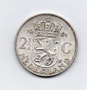 Paesi Bassi (Olanda) - 1961 -  2 E 1/2  Gulden - Argento - (FDC7354) - [ 8] Monedas En Oro Y Plata