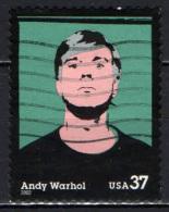 STATI UNITI - 2002 - ANDY WARHOL - USATO - United States