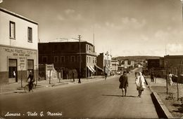 Eritrea, ASMARA, Viale G. Mazzini, Molini Fratelli Tosca (1942) RPPC Postcard - Eritrea