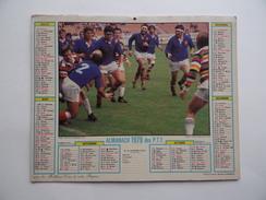 CALENDRIER P.T.T. POSTE POSTES 1979 ALMANACH CALENDAR KALENDER Voilier Régate Rugby - Calendriers