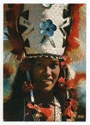 CPSM - JEUNE FEMME - POLYNESIE FRANCAISE - FRENCH POLYNESIA - TAHITIENNE - DANSEUSE - Coul - Ann 70 - - Océanie