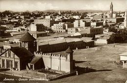 Eritrea, ASMARA, Scorcio Panoramico, Enda Mariam Cathedral (1942) RPPC Postcard - Eritrea