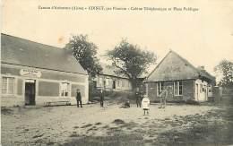 02 , Canton De  AUBENTON , COINGT Par Plomion , Cabine Téléphonique Et Place , * 373 95 - Autres Communes