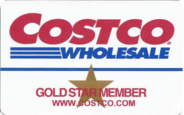 Costo Wholesale Gold Star Member - Customer Loyalty/Membership Card - Other