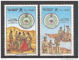 Oman - 1986 - Série 17e Camping Des Scouts Arabes - N/O - Oman