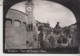 Cesena Modigliana  Torre Dell'orologio E Rocca  1954 - Cesena