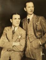 New York Acteurs Vaudeville Jans & Whalen Ancienne Photo Mitchell 1930 - Famous People