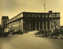 New York Syracuse Post Office Bureau De Poste Automobiles Ancienne Photo 1940 - Places