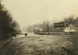 Paris Inondations De 1910 Crue De La Seine Gouin Freres Ancienne Photo Anonyme - Places